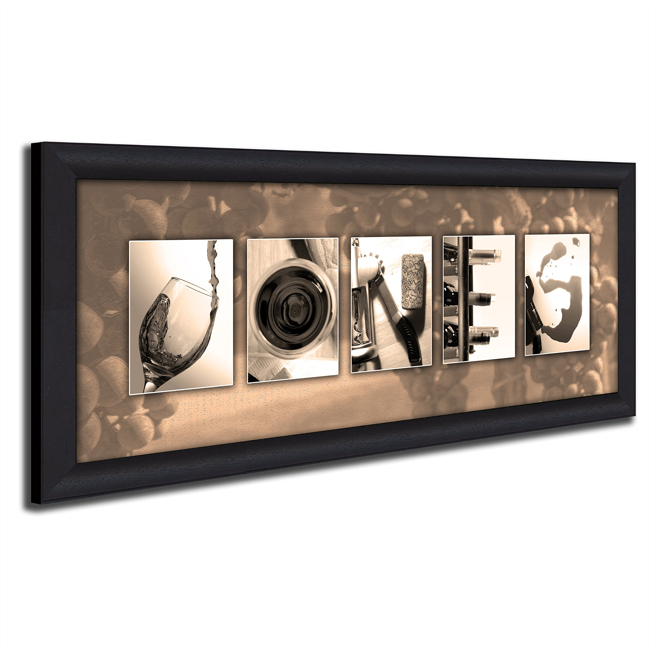 Framed Canvas - Personalized Wine Name Art - Perfect and unique customized gift for the wine lover or wine enthusiast.