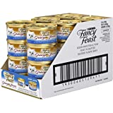 Fancy Feast Gravy Lovers Whitefish & Tuna Wet Cat Food, 24 Can, 24X85g