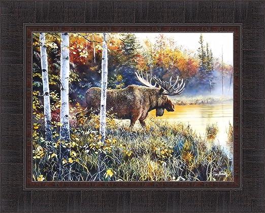 Jim Hansel Shadows in the Mist Bear Print