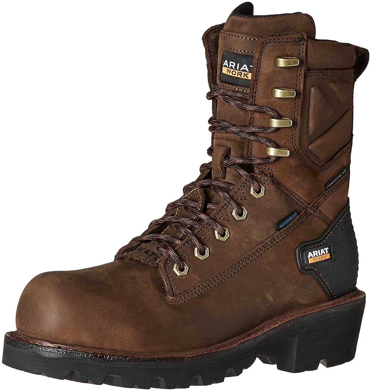 Ariat メンズ Oily Distressed Brown 9 D(M) US 9 D(M) USOily Distressed Brown B01BL5Z0B6