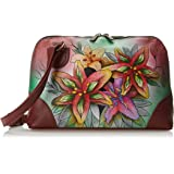 Anuschka Hand Painted Leather | Zip Around Wallet/Clutch