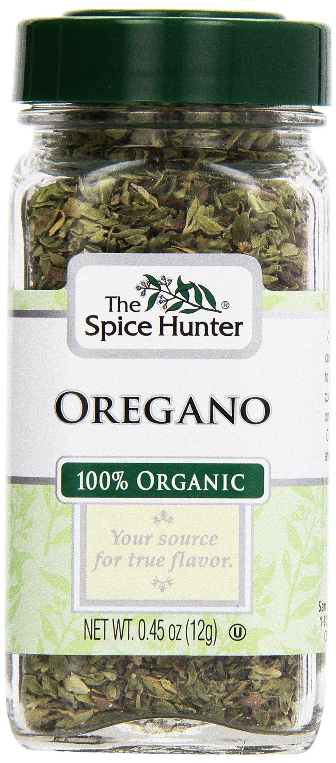 The Spice Hunter, Organic Greek Oregano, 0.45 oz