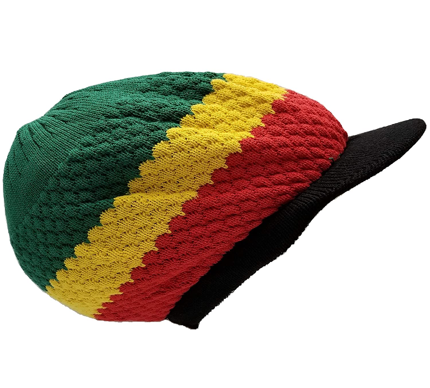 ef1610986 Jamaica Dreadlocks Rasta Hat Cap Marley Crown Reggae Selassie Roots ...