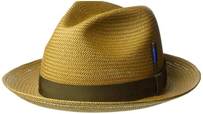 ed04f9b1ec479 Bailey of Hollywood Men s Cosmo Fedora Trilby Hat at Amazon Men s Clothing  store