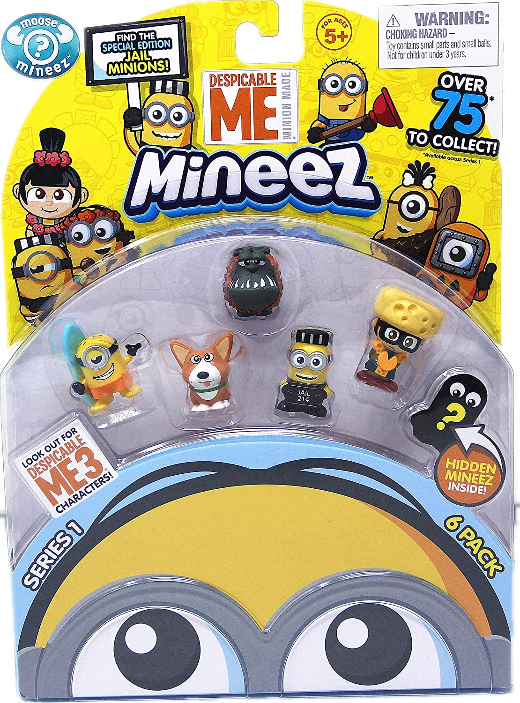 Mini Figures Minions Despicable Me Action Figures Toys Surprise Pack 6pcs//Set Collectable 6 Figure Set DespicableMe Over 75 Fitures Possiblity