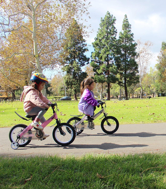 Nice C BMX Kids Bike with Dual Disc Brake for Boy and Girl 12-14-16-18 inch Training Wheels