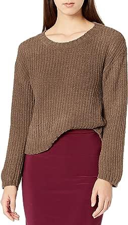 BB DAKOTA Junior's Chenille The Deal Sweater