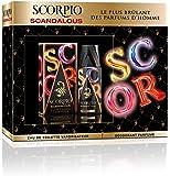 Scorpio Coffret 2 Produits Scandalous Eau de Toilette Flacon 75 ml/Dédodorant Atomiseur 150 ml