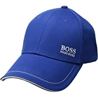 Hugo Boss Mens Logo Twill Cap 1, high Blue, One Size