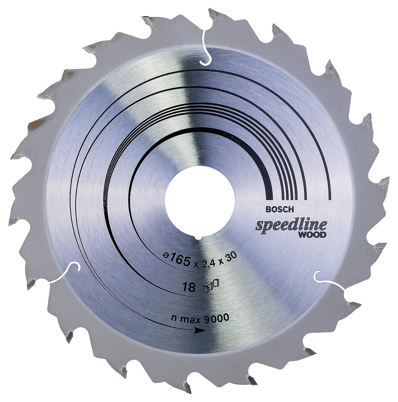 Bosch Professional Zubeh/ör 2608640787 Kreiss/ägeblatt Speedline Wood 160 x 20 x 2,4 mm 18
