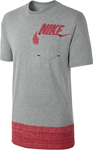 Nike té Futura Pack 611973 063 – Camiseta para hombre gris X-Large: Amazon.es: Ropa y accesorios
