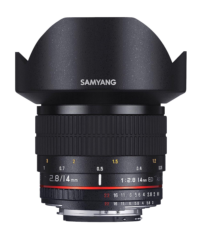 Samyang AE mm IF ED UMC Objectivo para Nikon color negro