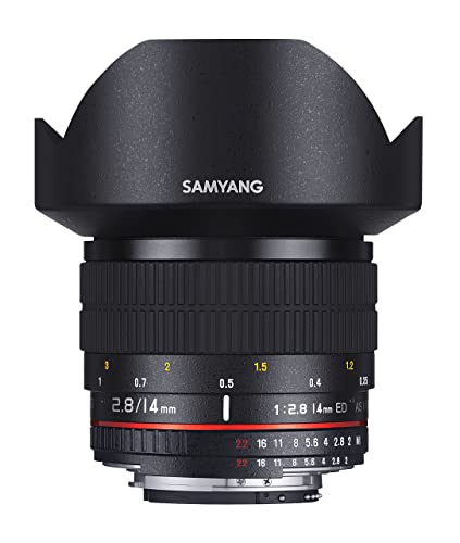 SAMYANG AE 14mm f / 2.8 ED IF UMC wide angle Lens - for Nikon
