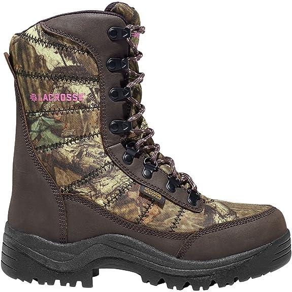 Lacrosse Silencer 8″ Mossy Oak 800g Break-up Infinity Women's Hunting Boots
