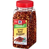 McCormick Crushed Red Pepper (Organic, Non-GMO, Kosher), 8.8 oz
