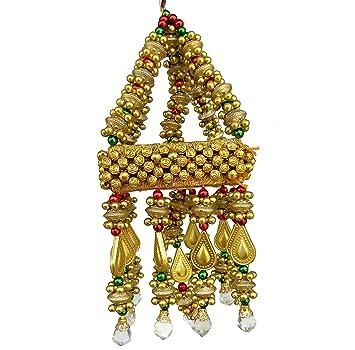 Buy Handicraft Handmade Jhumar Traditional Door Hangings Square