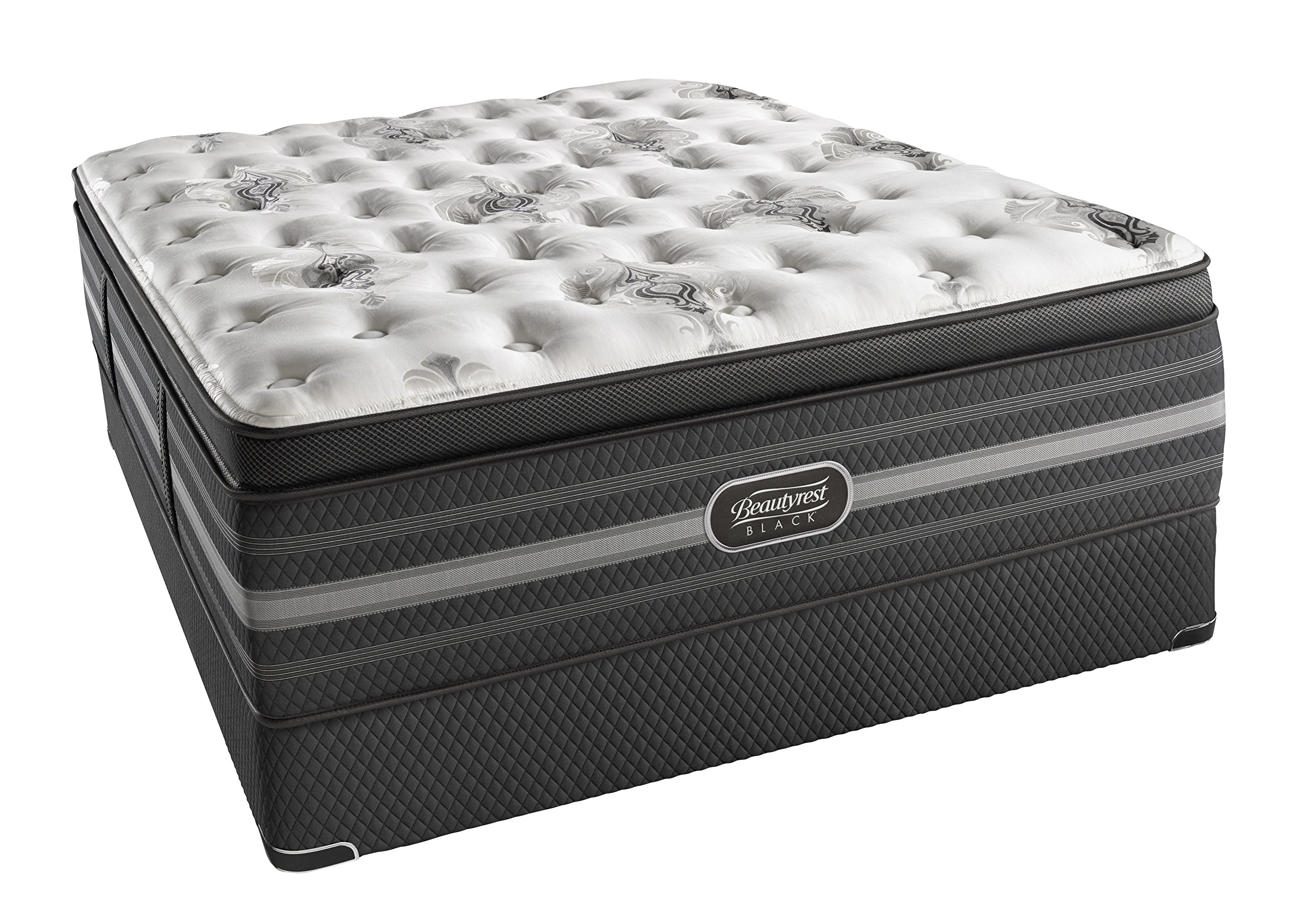 Beautyrest Black Sonya Luxury Firm Pillow Top Mattress, King by Simmons