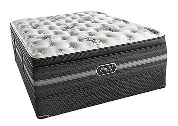 Amazon Com Beautyrest Black Sonya Luxury Firm Pillow Top Mattress