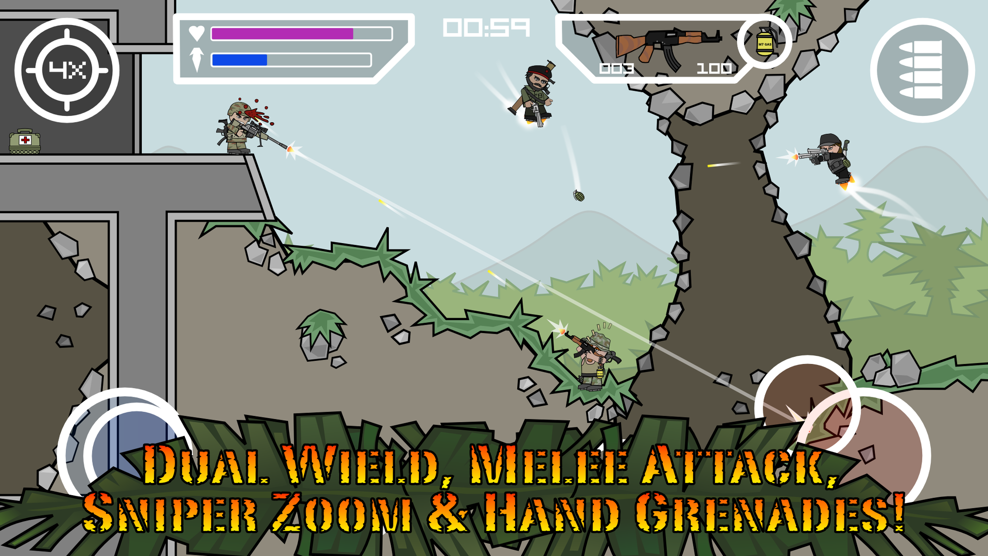 Amazon.com: Doodle Army 2 : Mini Militia: Appstore for Android