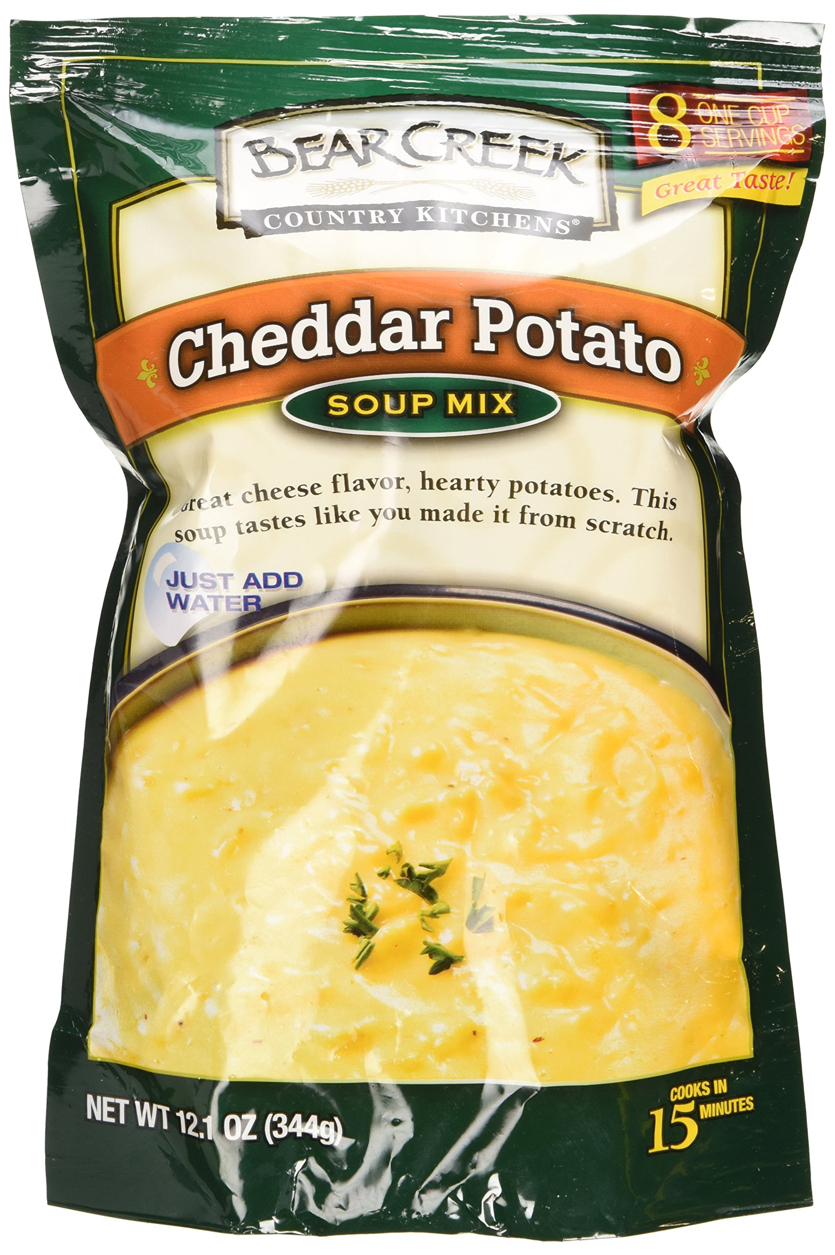 Amazing Bear Creek Country Kitchen Cheddar Potato Soup Mix (Pack Of 3)