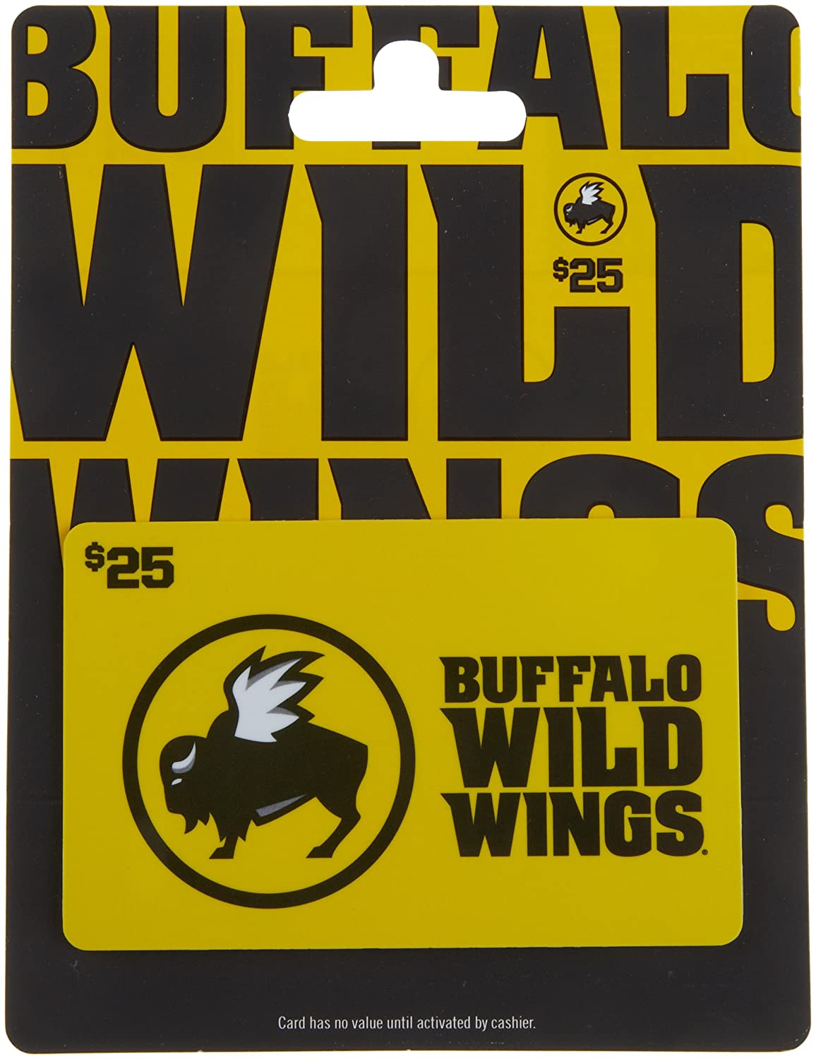 Amazon.com: Buffalo Wild Wings Gift Card $25: Gift Cards
