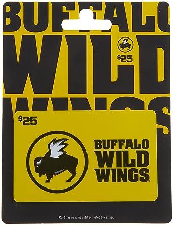 Amazon Buffalo Wild Wings Gift Card 25 Gift Cards