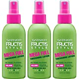 Garnier Hair Care Fructis Style Mega Full Thickening Lotion, 3 Count