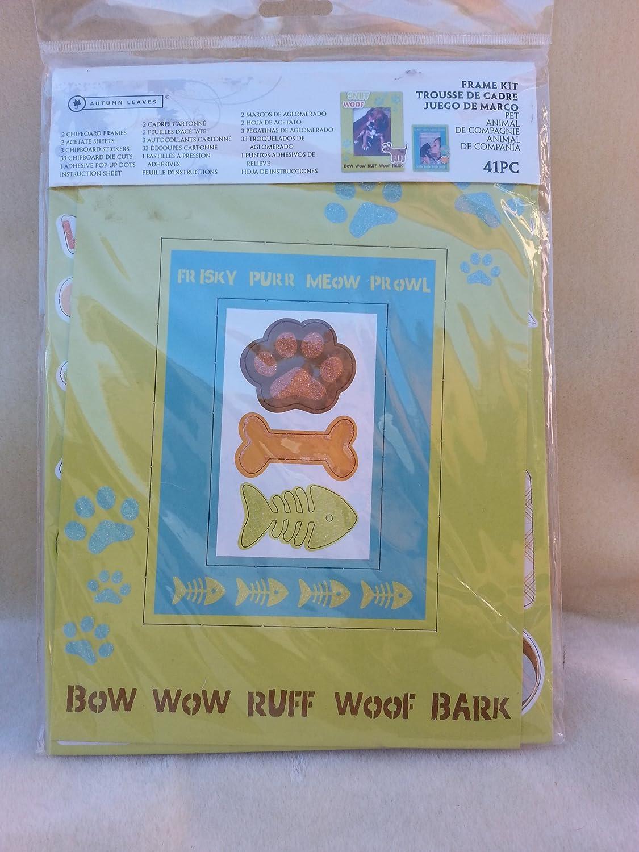 Amazon.com - Autumn Leaves 41 Piece Pet Frame Kit - 019724ead
