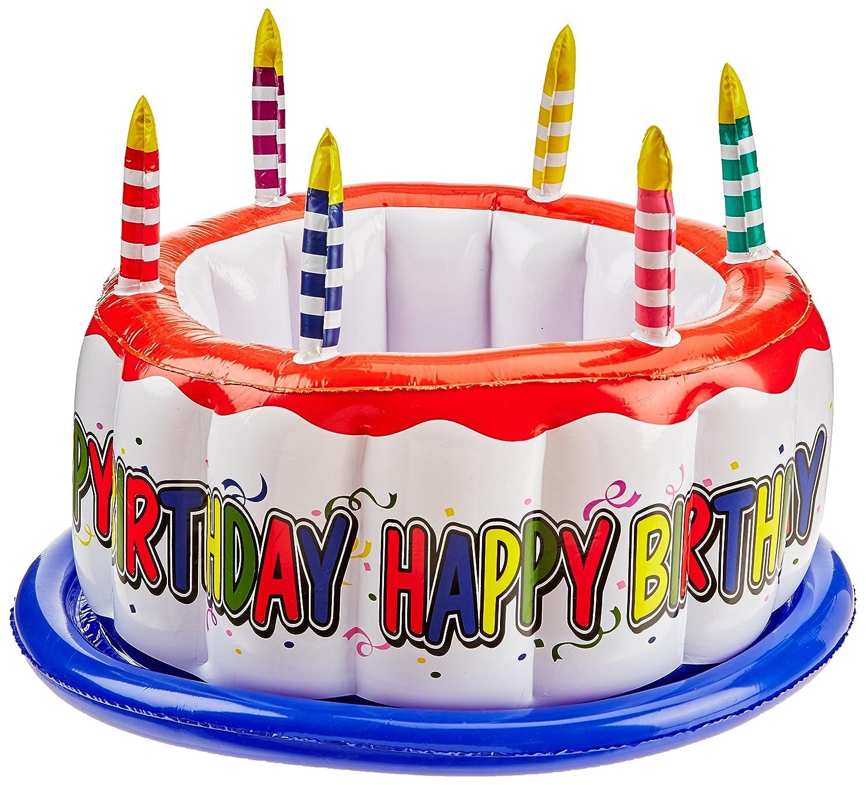 Beistle 57894 Hinchable Enfriador de Tarta de cumpleaños, 24 ...