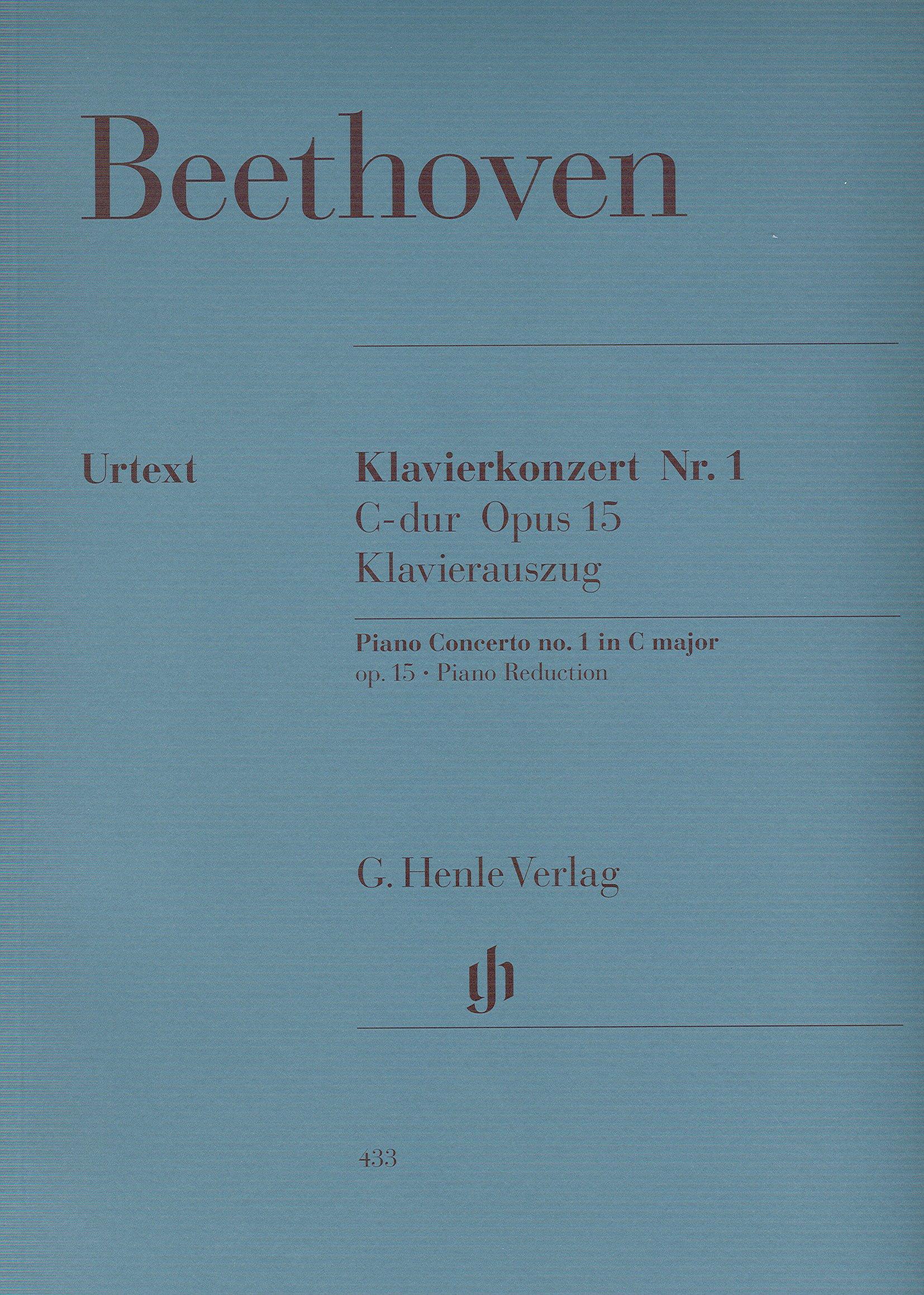 Download BEETHOVEN - Concierto nº 1 en Do Mayor Op.15 para 2 Pianos a 4 Manos (Urtext) ebook