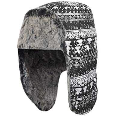 f319272c837f9 Image Unavailable. Image not available for. Colour: adidas Performance  Women's Fur Uschank Russian Trapper Hat - One Size