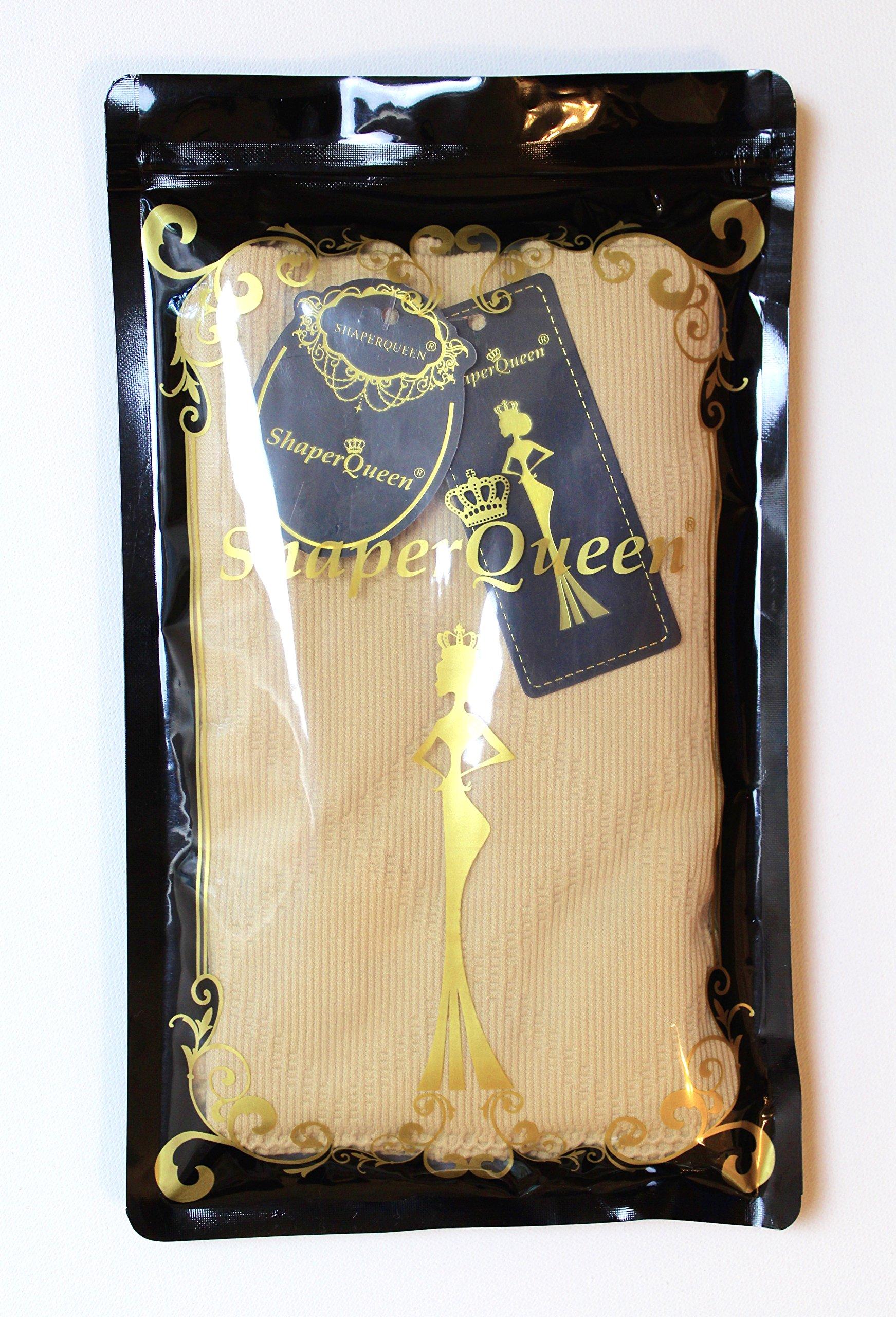 6c584863c0bed2 ShaperQueen 102 Thong - Women Waist Cincher Girdle Tummy Slimmer Sexy Thong  Panty Shapewear (L