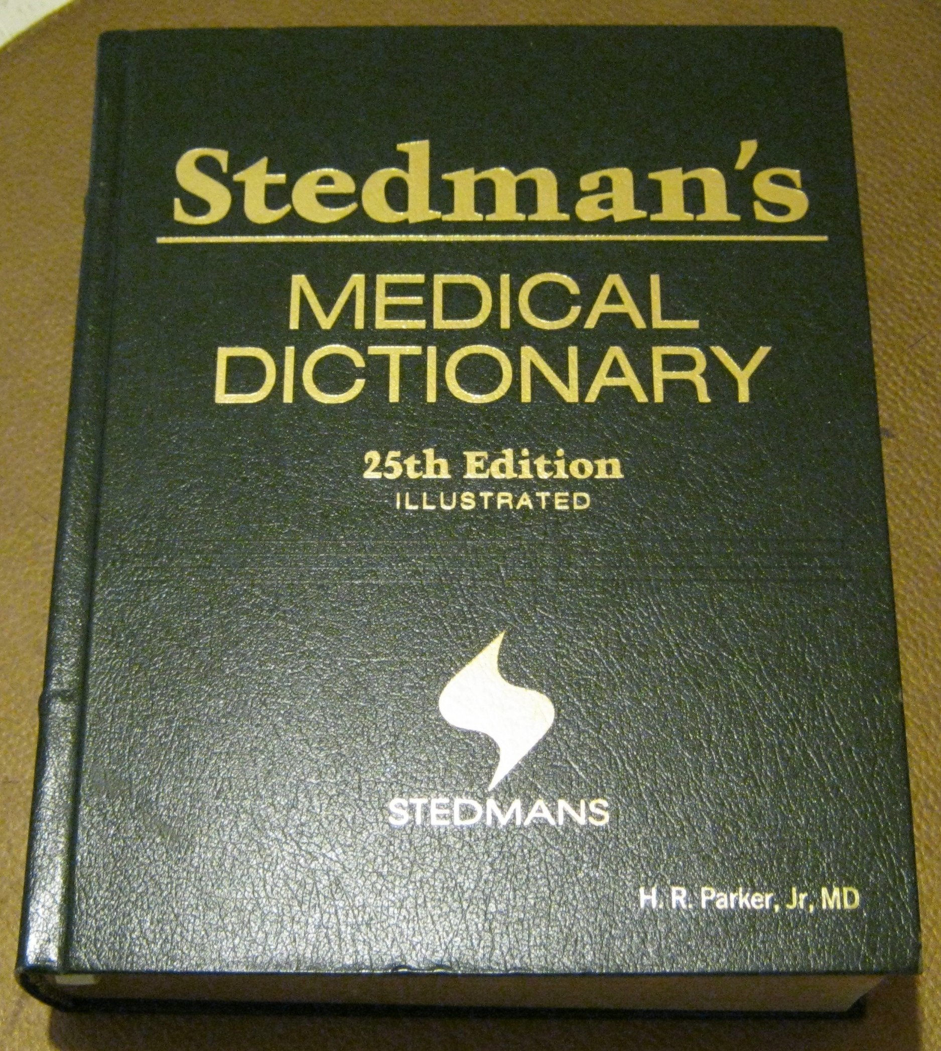 Stedmans Medical Dictionary 25th Edition Illustrated Amazon Books