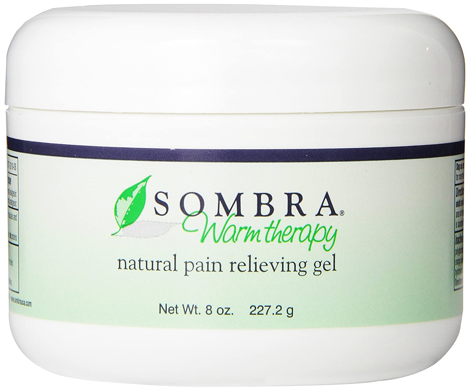 Sombra Warm Therapy Natural Pain Relieving Gel, 8-Ounce