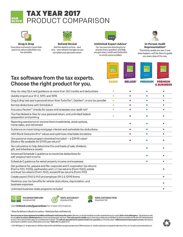 Amazon hr block tax software premium business 2017 with 5 amazon hr block tax software premium business 2017 with 5 refund bonus offer falaconquin