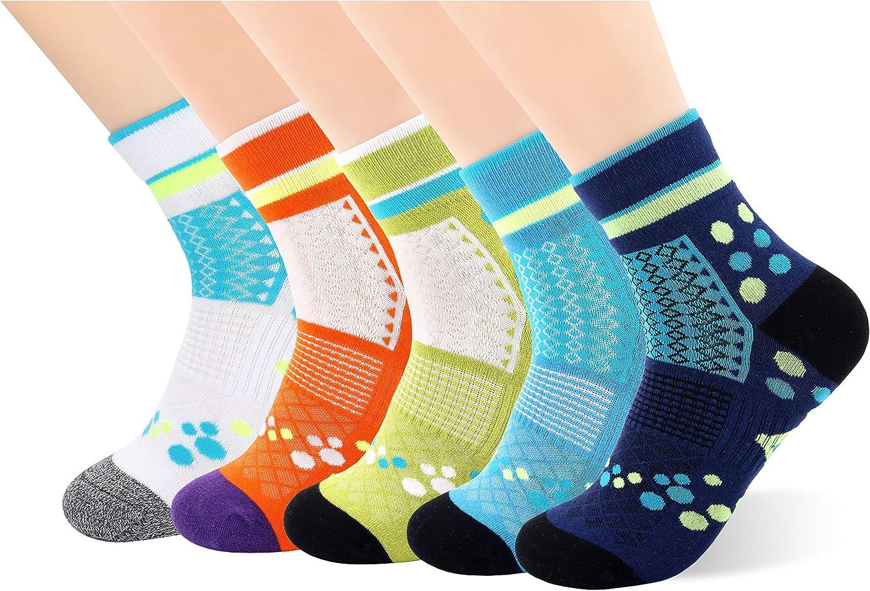 Copper Infused Ankle Socks for Women Moisture Wicking Low Cut Socks