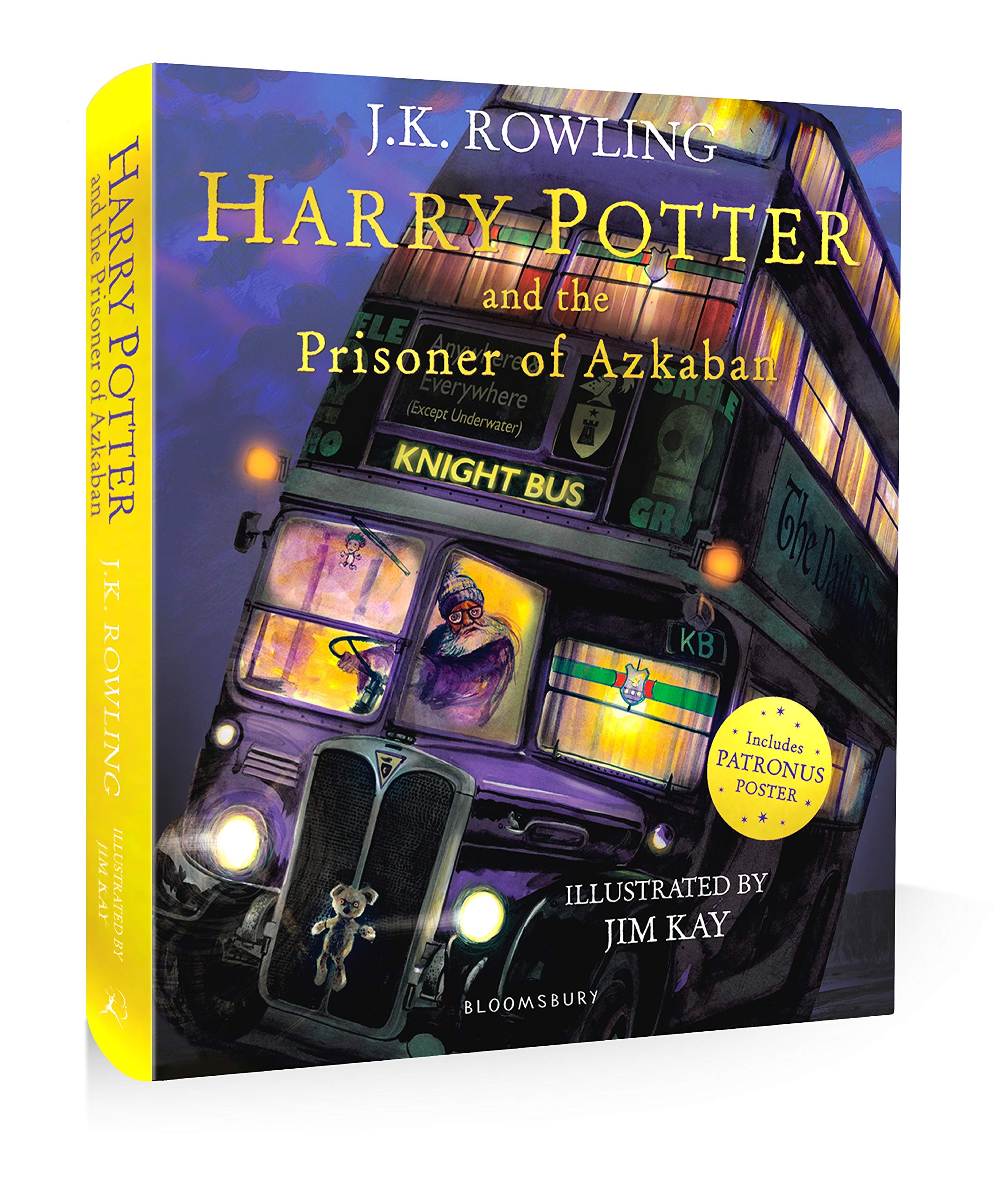 Harry Potter And The Prisoner Of Azkaban: Illustrated Edition ...