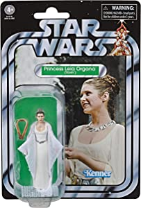 """Star Wars The Vintage Collection A New Hope Princess Leia Organa (Yavin) Toy, 3.75"""" Scale Action Figure, Kids Ages 4 & Up"""