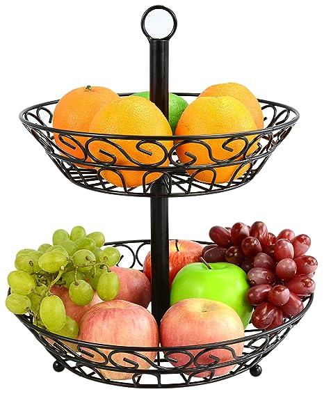 Beau Surpahs 2 Tier Countertop Fruit Basket Stand