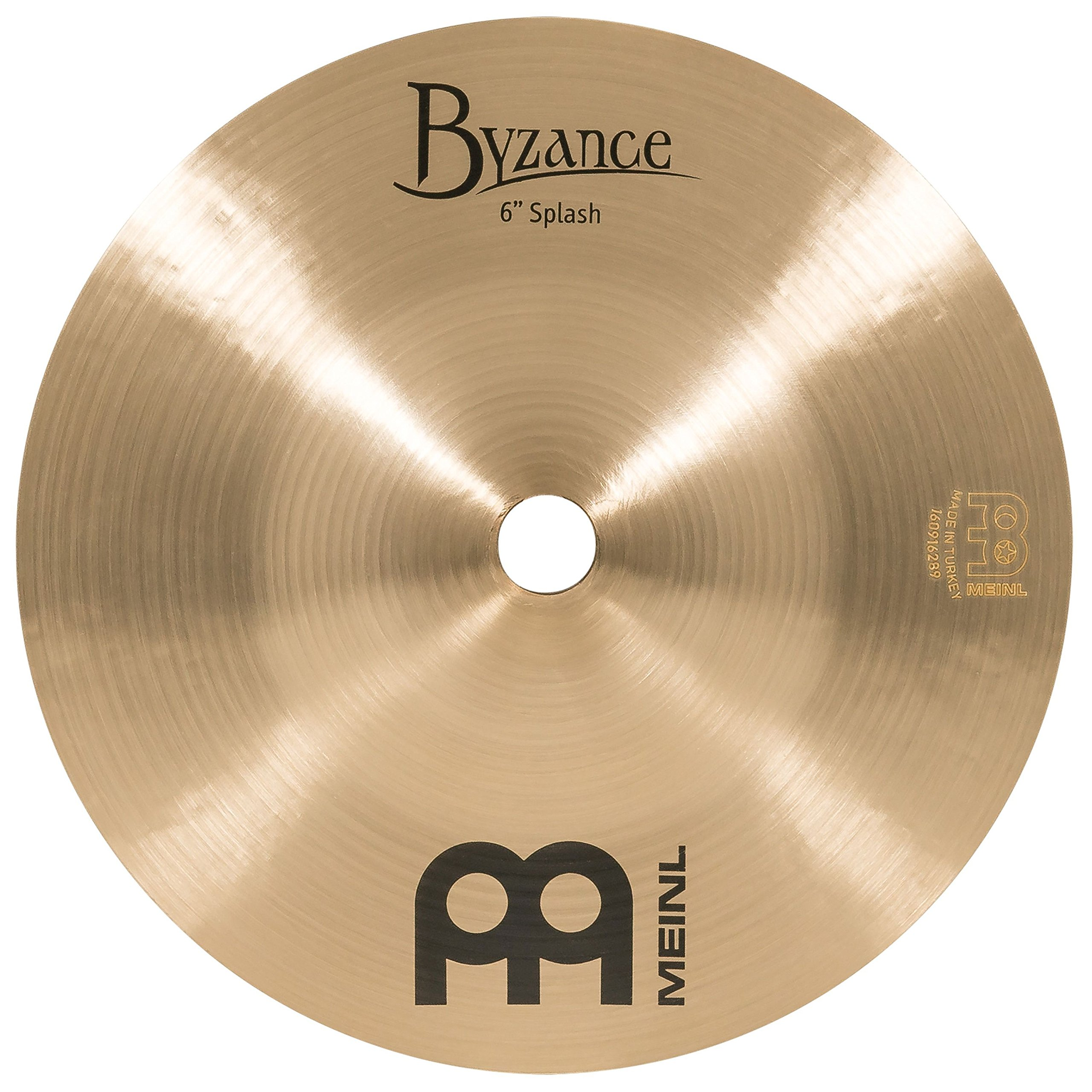 Meinl Cymbals B6S Byzance 6-Inch Traditional Splash Cymbal (VIDEO) by Meinl Cymbals