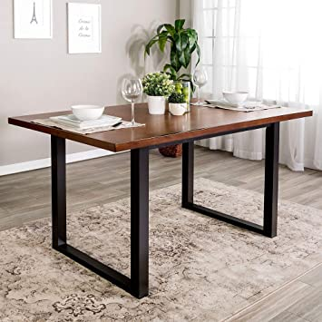 Overstock 60 Inch Madison Wood Dining Table
