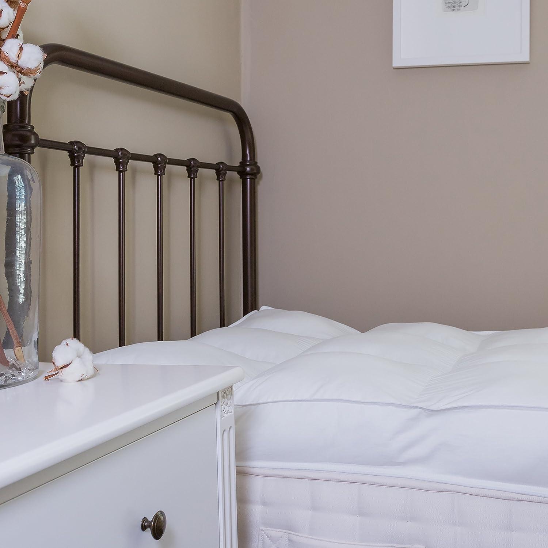 Calidad del hotel 10 cm (4 pulgadas) espesor de espesor colchón, Rey, King Size,: Amazon.es: Hogar
