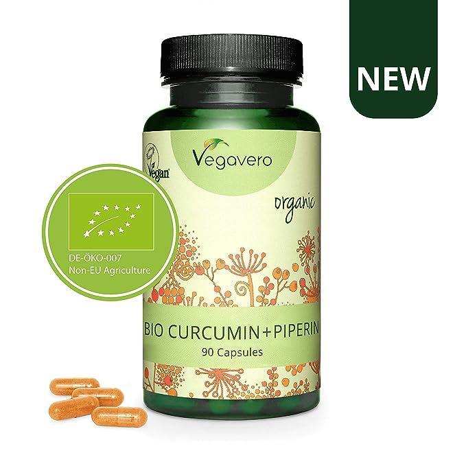 BIO Curcumina + Piperina Vegavero® | Extractos ...
