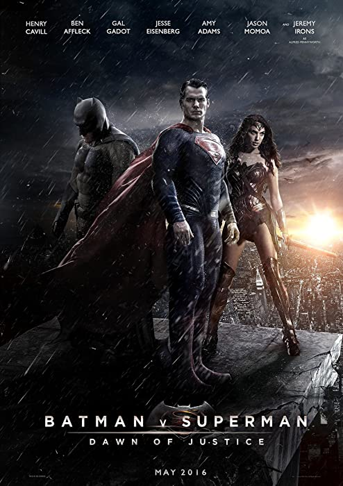 """Batman Vs. Superman: Dawn of Justice - Movie Poster: (24 x 36"""" Inches) - Glossy Photo Paper (Thick 8 Mil), Ben Affleck, Henry Cavill, Jesse Eisenberg"""