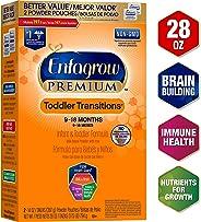 Enfagrow Premium Toddler Transitions Infant & Toddler Formula, Powder, 28 oz Box (28 Ounce (Pack of 1)