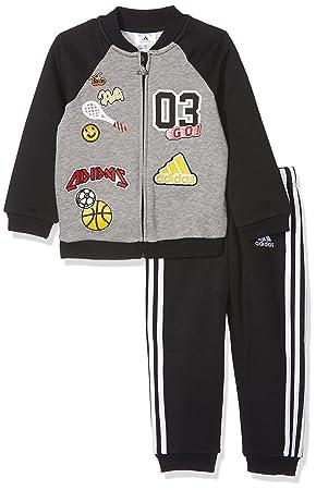 ukSports Adidas Jog Fun Children's I co Fl TracksuitAmazon v8NmnO0w