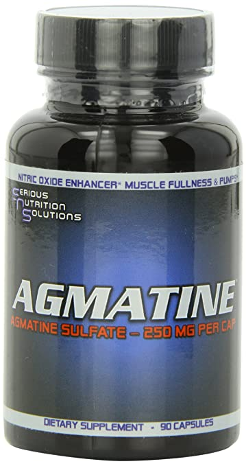 Serious Nutrition Agmatine 250mg, 90 Count