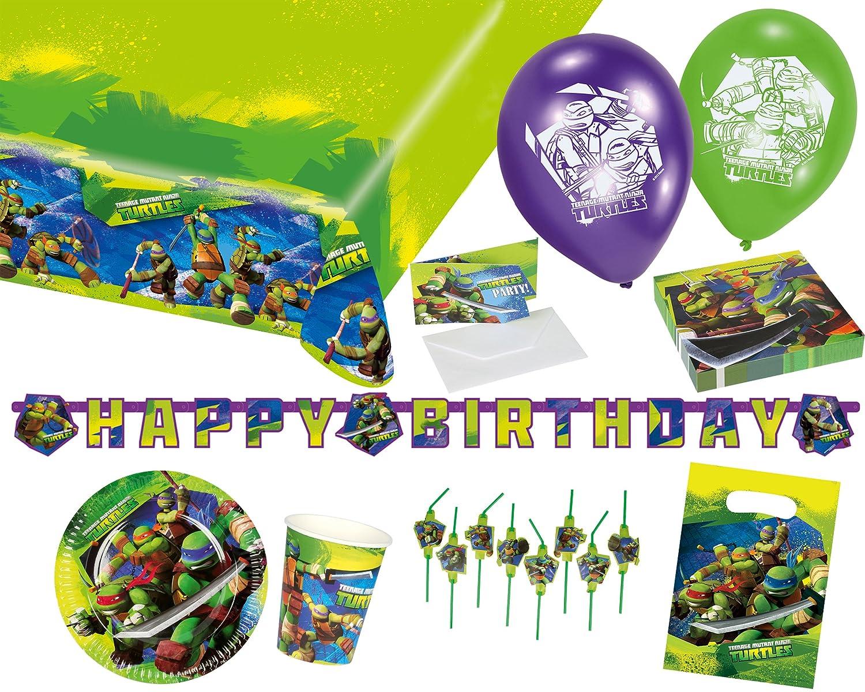 Amscan 90500224Party Set Ninja Turtles 9050 0224