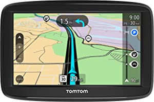 TomTom Via 1525SE 5 Inch GPS Navigation Device with Free Traffic, Free Maps of the US, Advanced Lane Guidance and Spoken Turn-By-Turn Directions