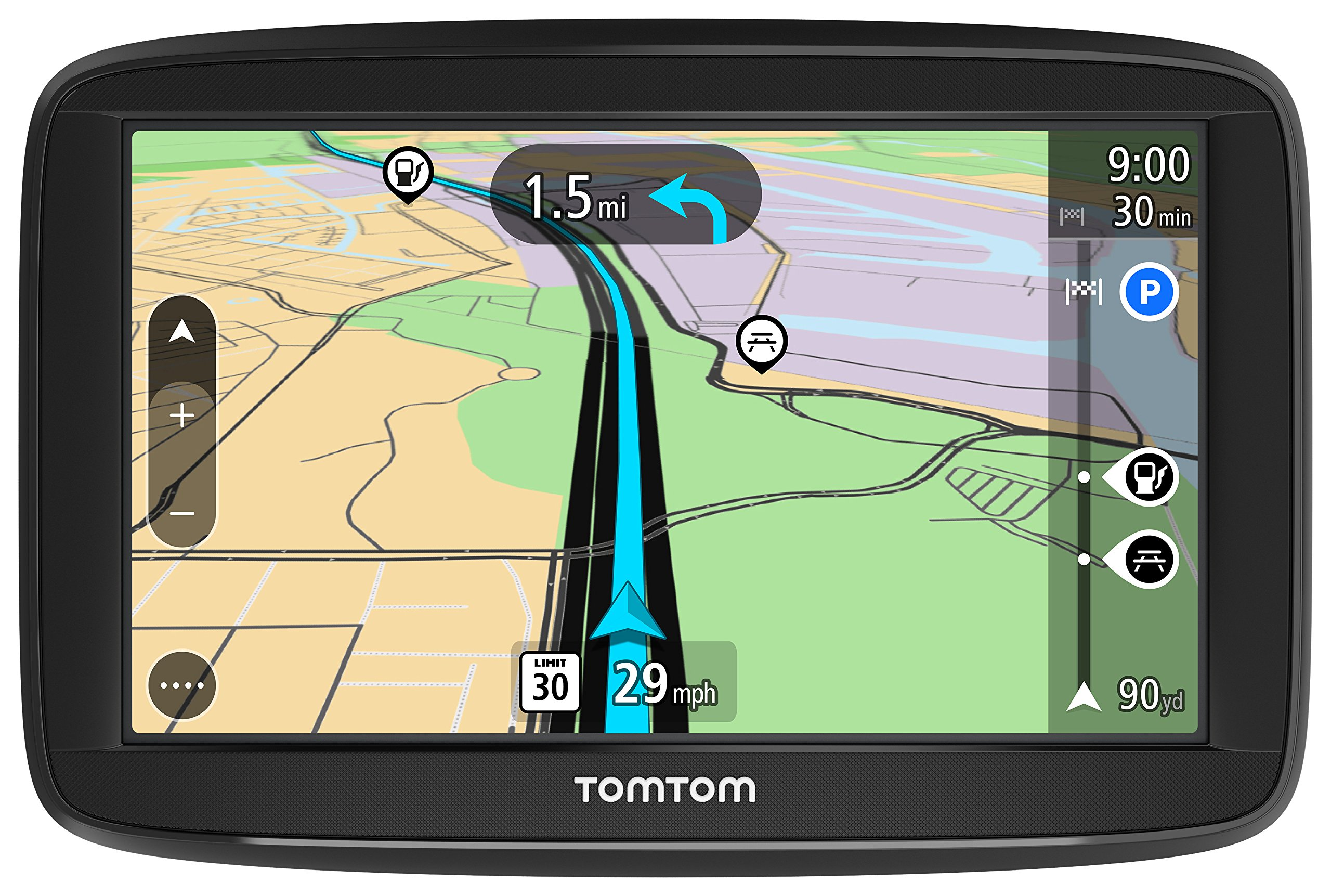 TomTom VIA 1525SE 5 Inch GPS Navigation Device with Free Lifetime Traffic by TomTom